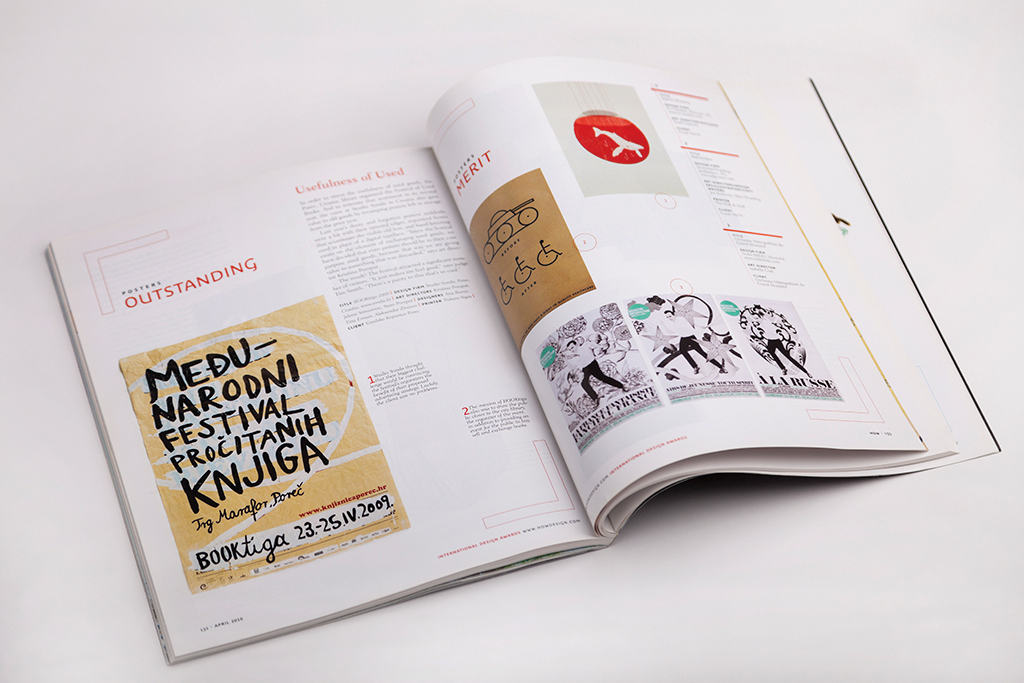 Booktiga, dizajn, HOW, Hrvatska, knjiga, nagrada, outstanding, outstanding achievement award, plakat, Sonda, Studio Sonda, Tim Smith, Hrvatski dizajn