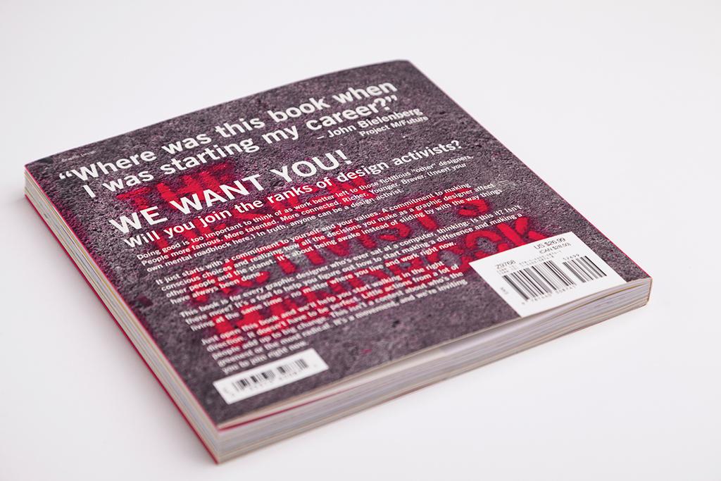 The Design Activist's Handbook, Hrvatski dizajn, dizajn, Sonda, Studio Sonda, Vižinada, Booktiga, Plakat, Rabljeno, Rabljeni plakat