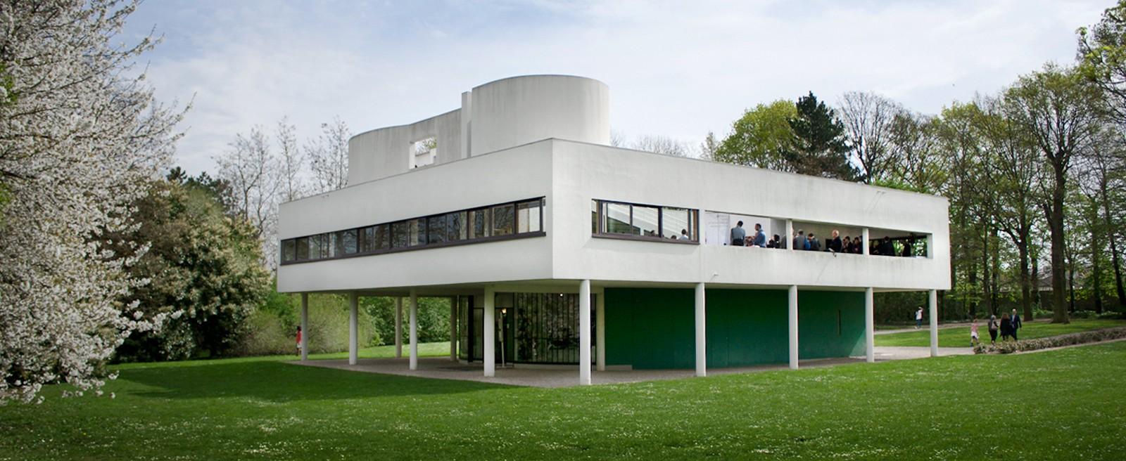 Sonda u Le Corbusierovoj Villi Savoye