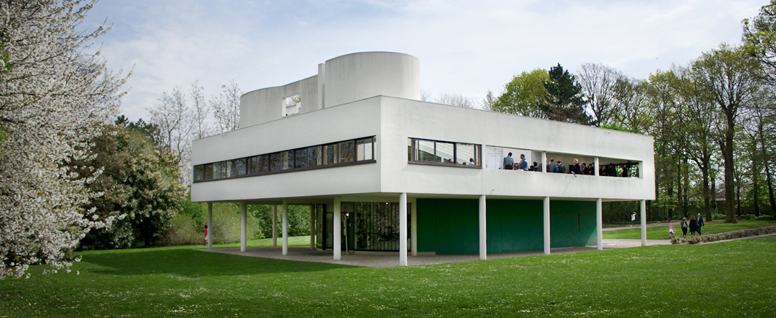 Sonda in Le Corbusier's Villa Savoye