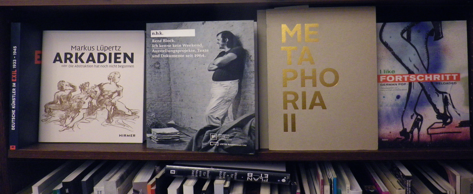 Metaphoria II in the Walther König bookstore