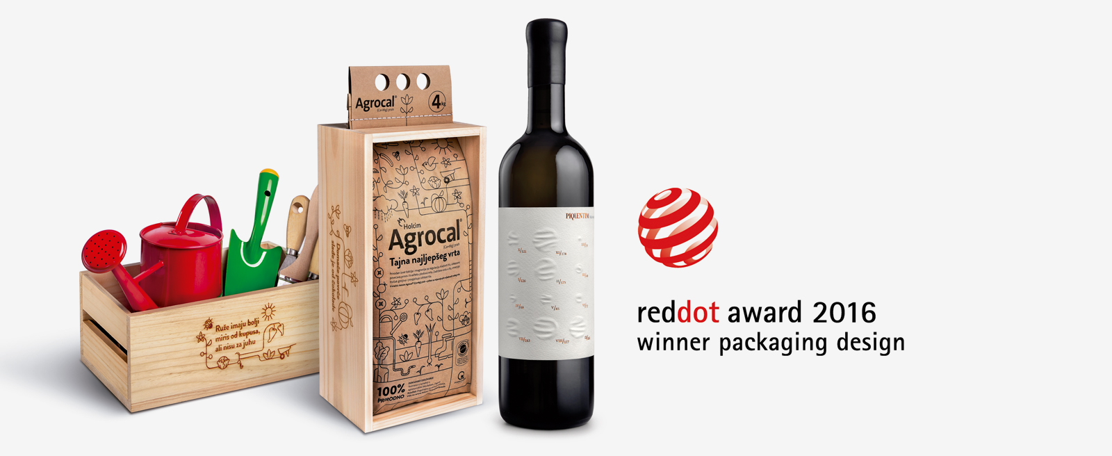 In 2016 two more Red Dot Awards for design