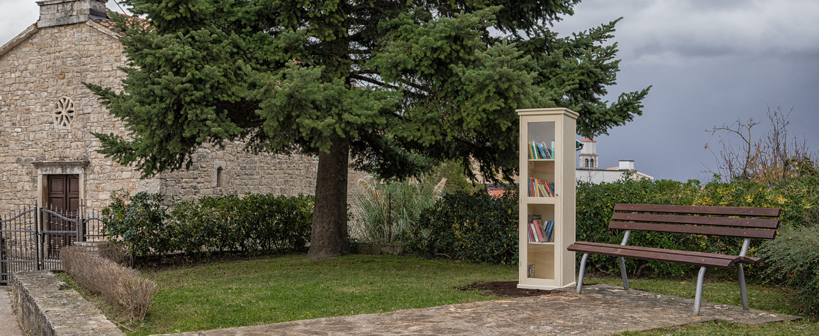 Little Free Library in Vižinada