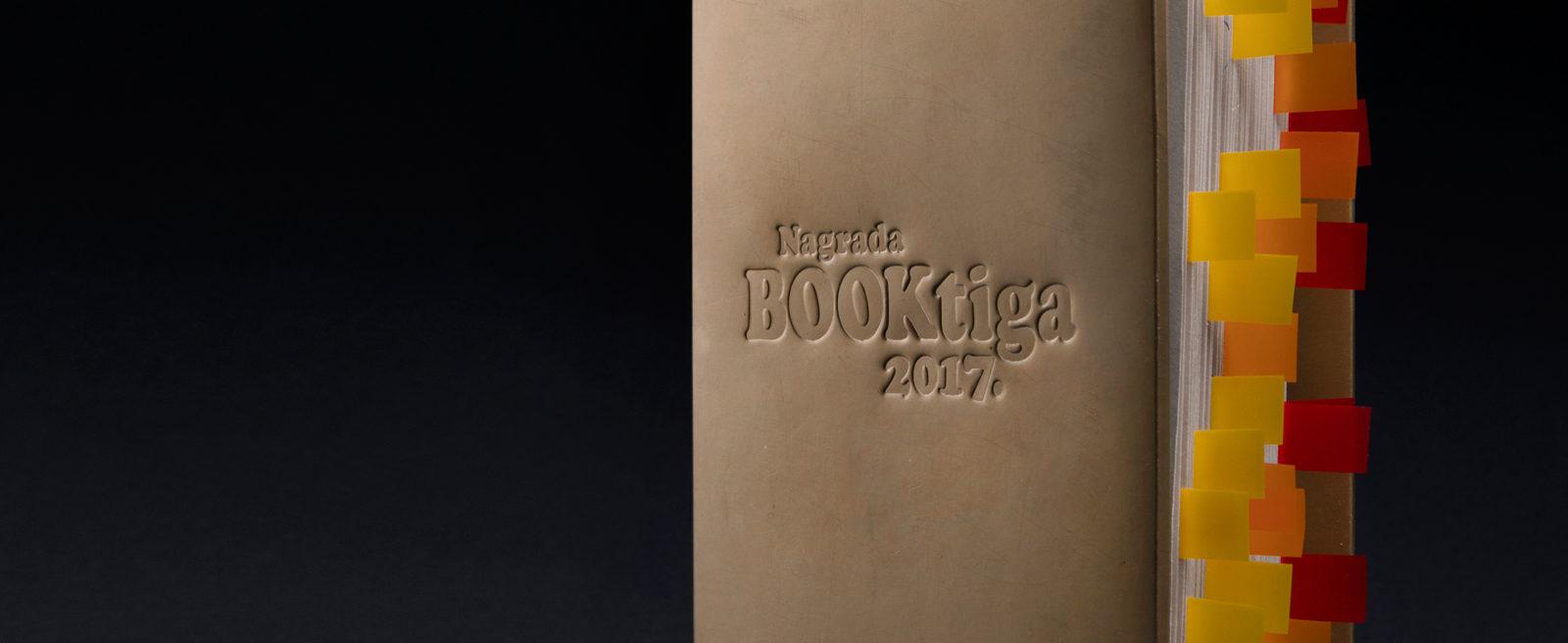 Dizajn Booktiga nagrade za najčitanijeg autora/icu