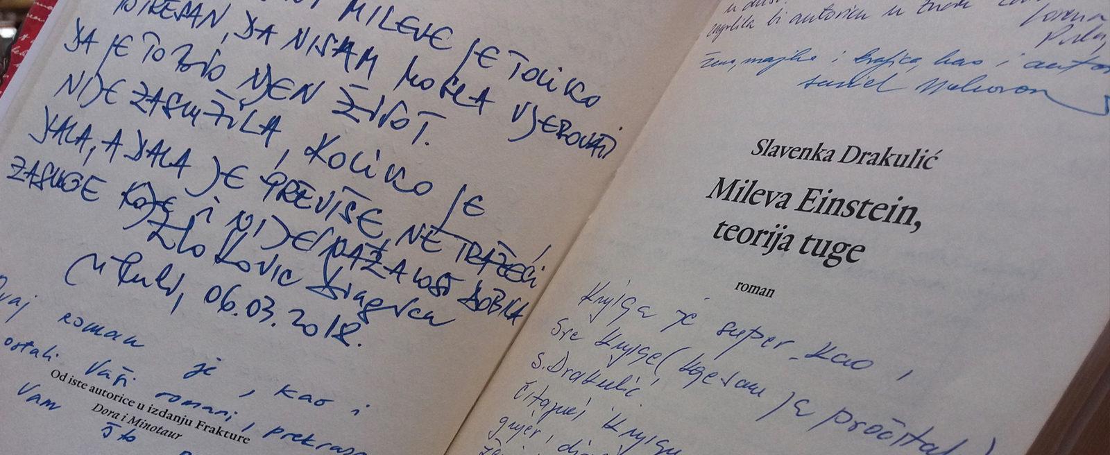 Nagrada Booktiga 18. za Slavenku Drakulić