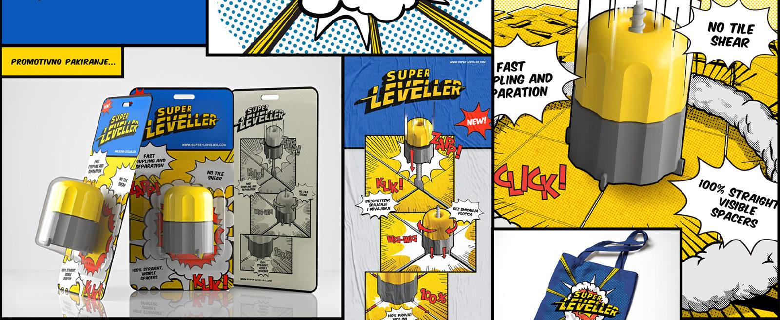 Super Leveller – Ceramic Tile Leveller