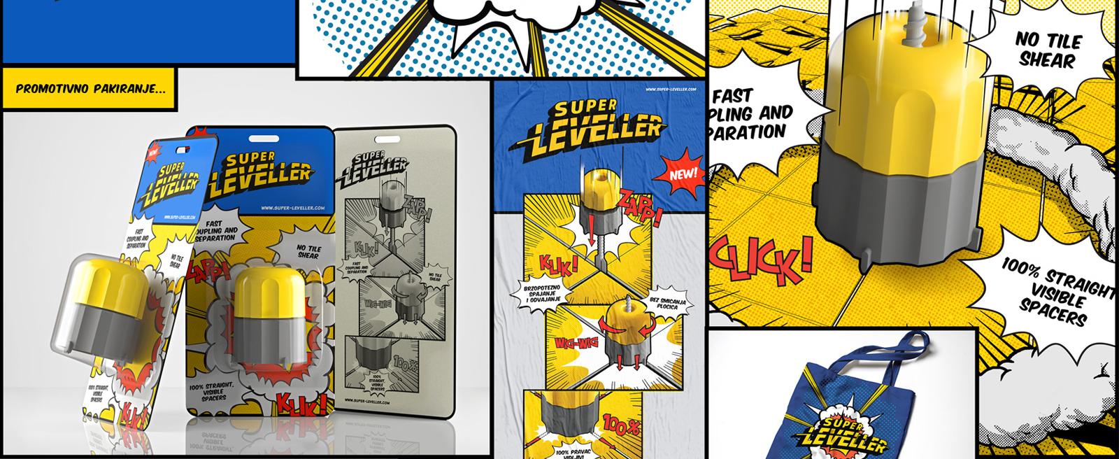 Super Leveller – Nivelator za keramiku