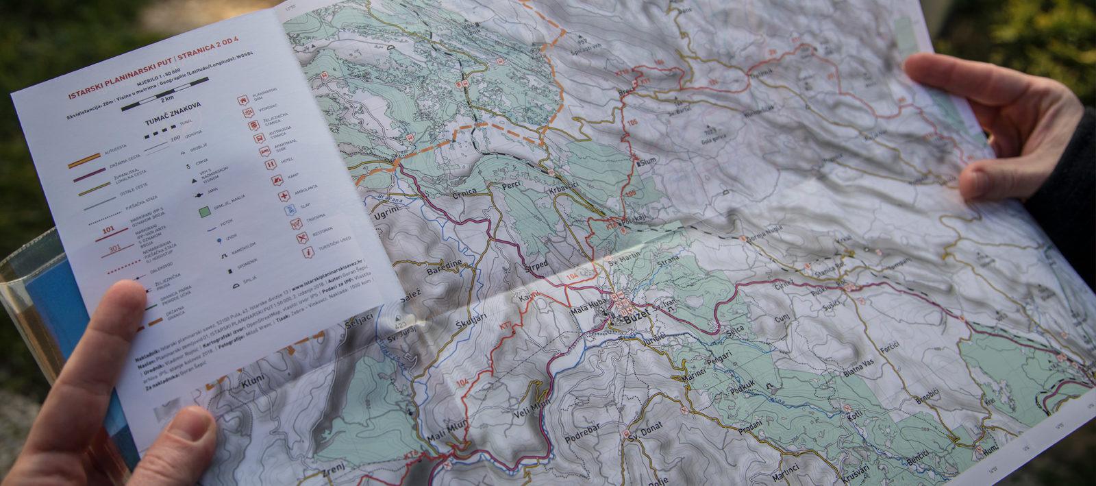 Istrian mountain trail Guide