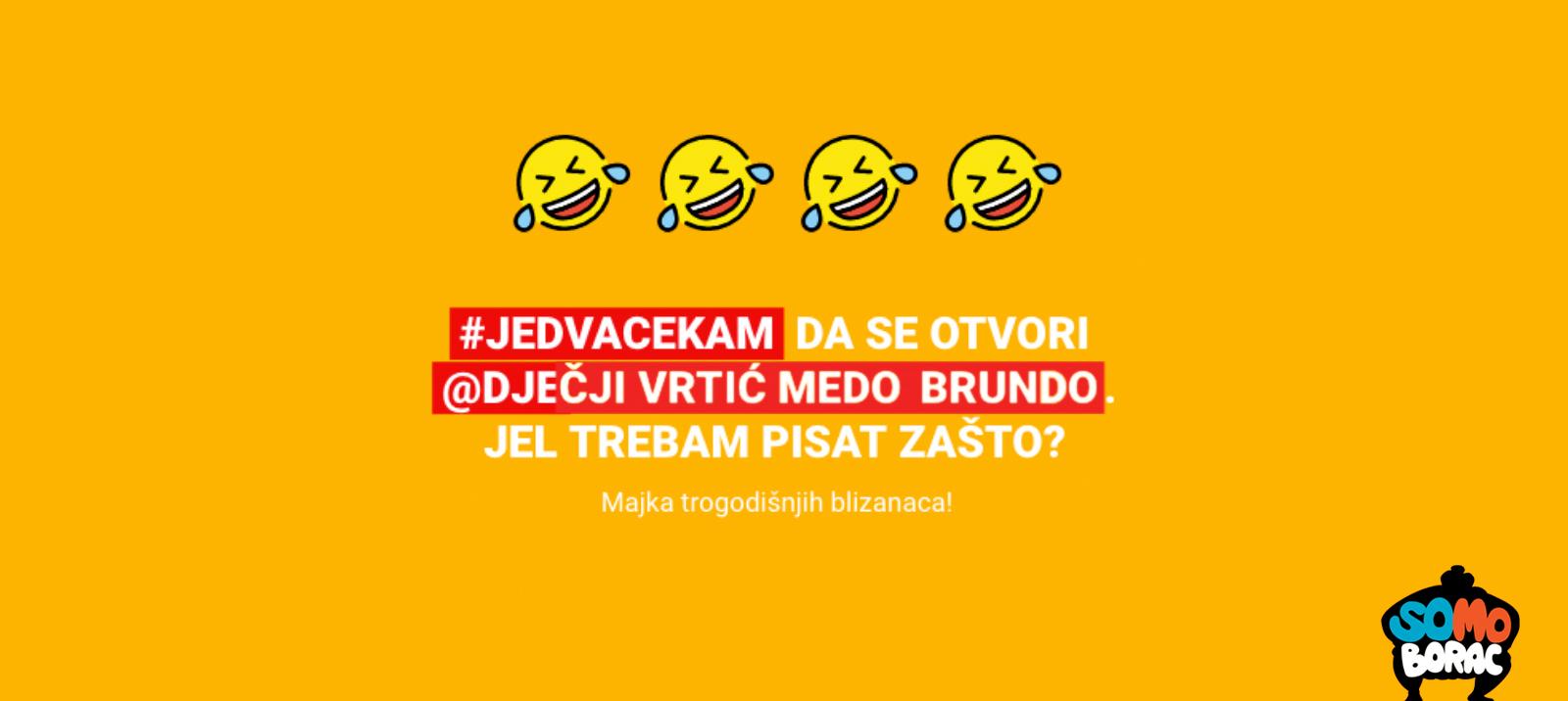 SoMo Borac award for #jedvacekam