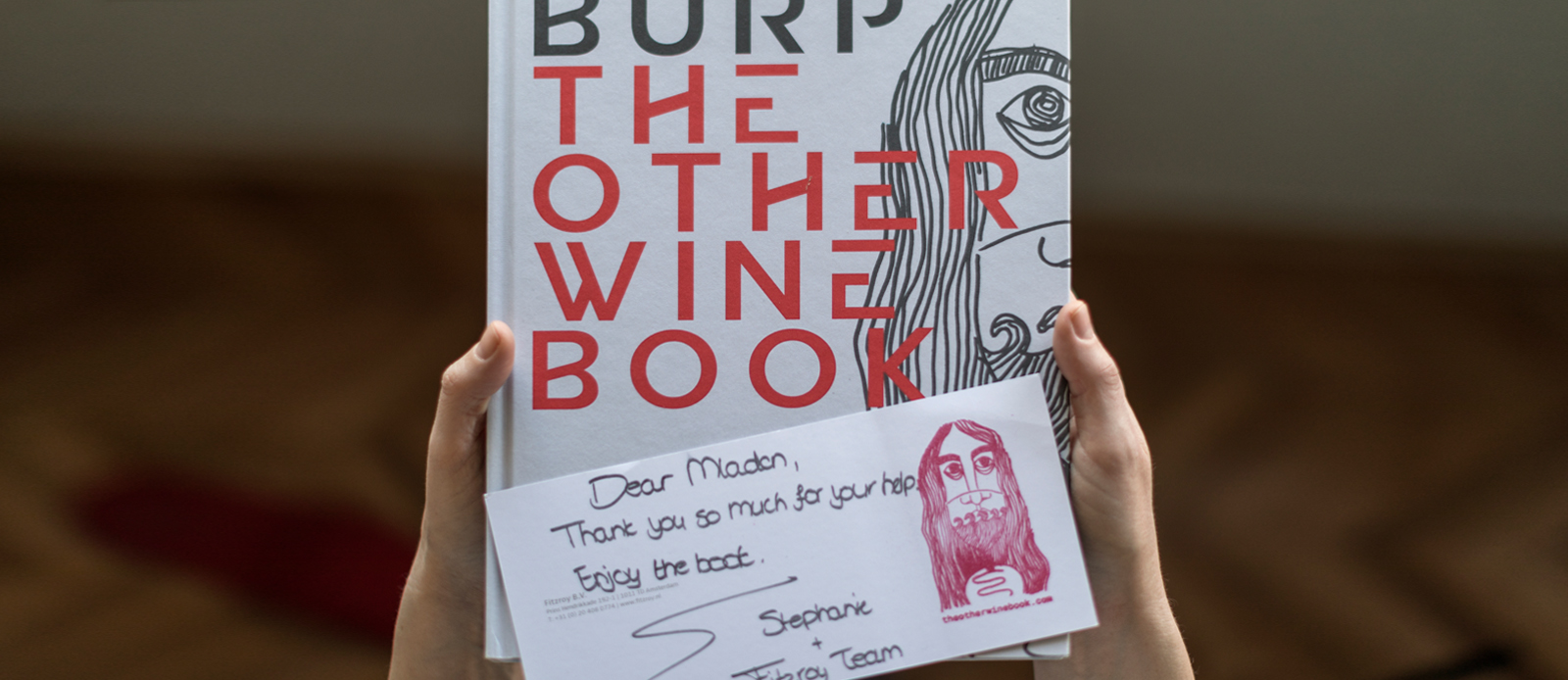 Piquentum u knjizi Burp – The other wine book