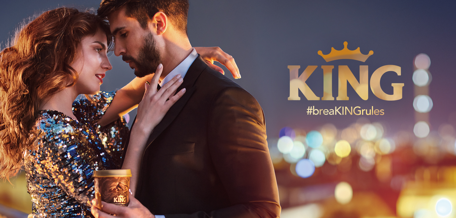 #breaKINGrules 360° campaign and new packaging for King